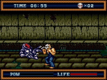 Скриншот №2. Splatterhouse 3