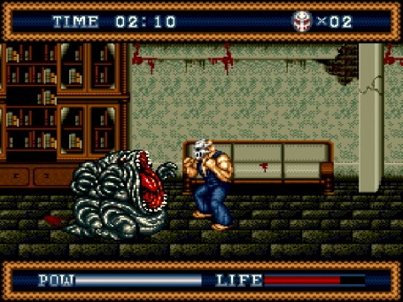 Скриншот №3. Splatterhouse 3
