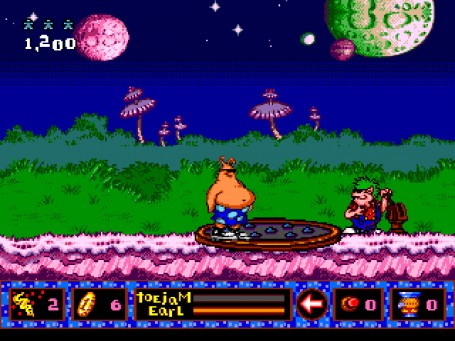 Скриншот №2. Toejam and Earl in Panic on Funkotron