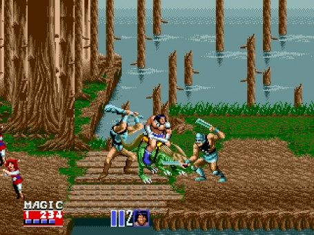 Скриншот №2. Golden Axe 2