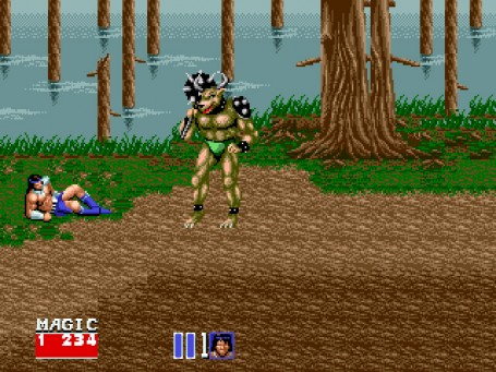 Скриншот №3. Golden Axe 2