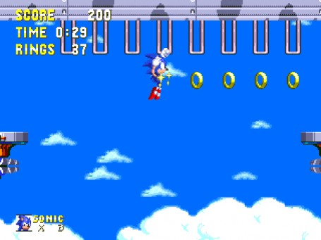 Скриншот №3. Sonic and Knuckles