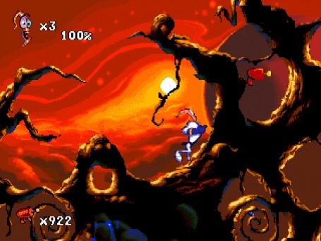 Скачать бесплатно игру Червяк джими против зло-ворона Earthworm ...