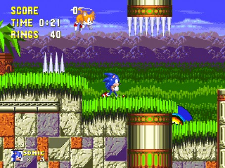 Скриншот №2. Sonic the Hedgehog 3