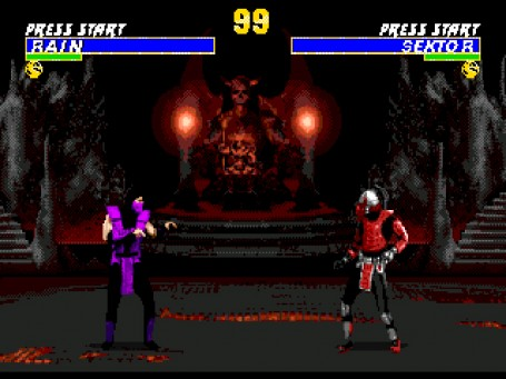 Скриншот №2. Ultimate Mortal Kombat 3