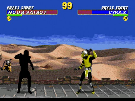 Скриншот №4. Ultimate Mortal Kombat 3