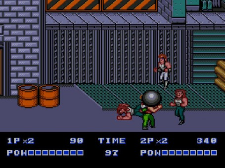 Скриншот №2. Double Dragon 2