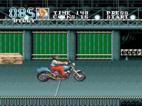 Скриншот №2. Double Dragon 3 - The Arcade Game