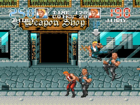 Скриншот №3. Double Dragon 3 - The Arcade Game