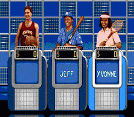 Jeopardy Sports Edition