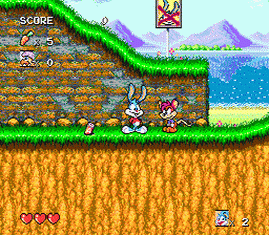 Tiny Toon Adventures - Buster's Hidden Treasure