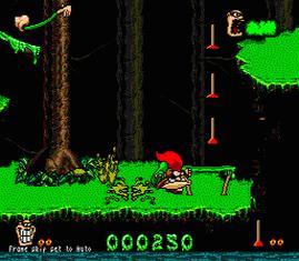 Скачать бесплатно игру Бугемен Boogerman, эмулятор сега (Sega Genesis, Mega Drive 2), буква b